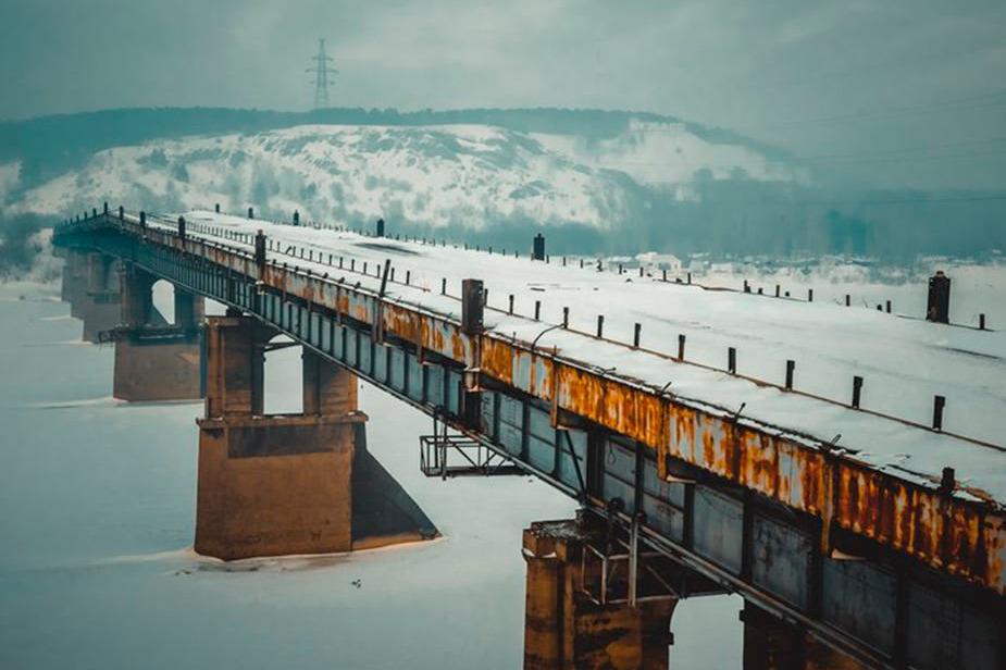 мост через томь в кемерово фото снимаются