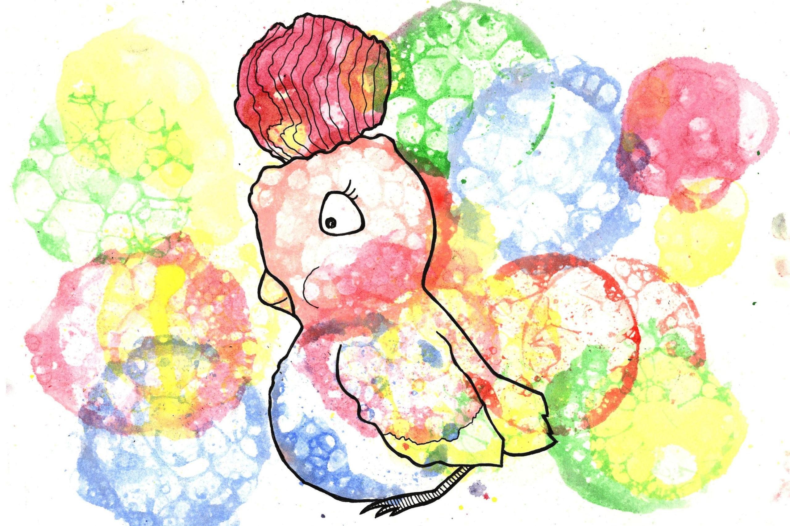 стоит надевать поэтапное рисование мыльными пузырями картинки этой жизни