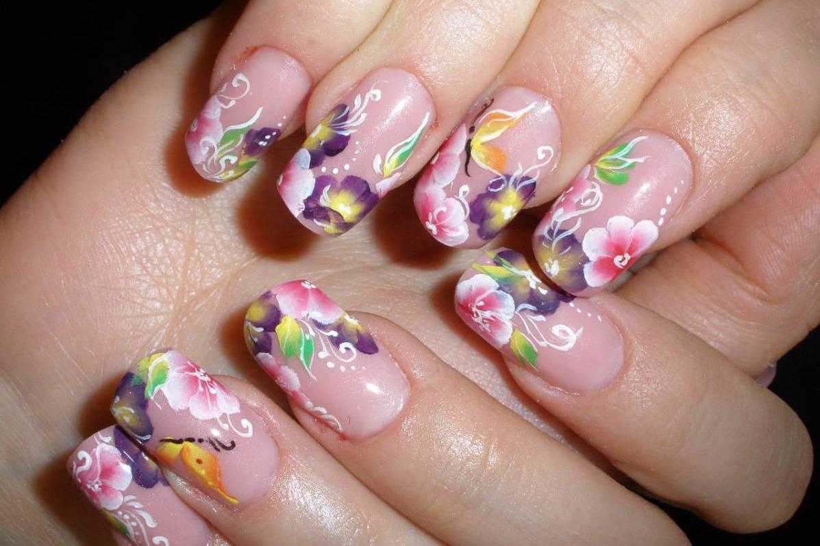 Фото дизайн ногтей рисунки на ногтях роспись