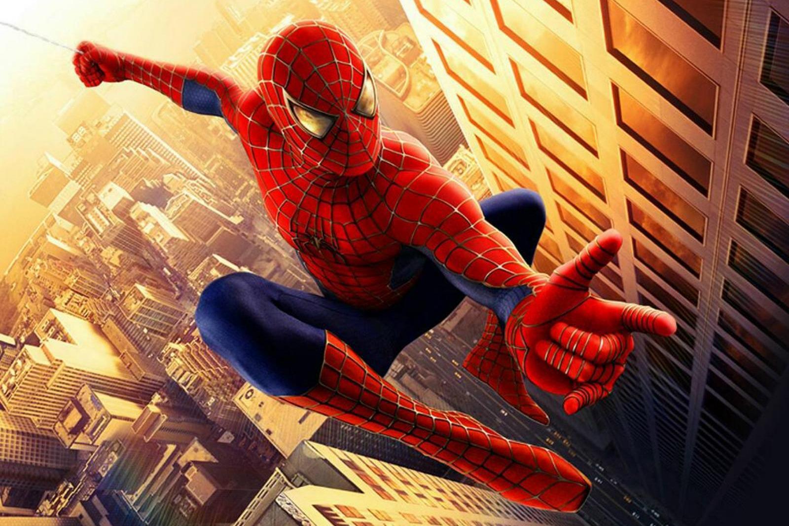 человека паука картинка